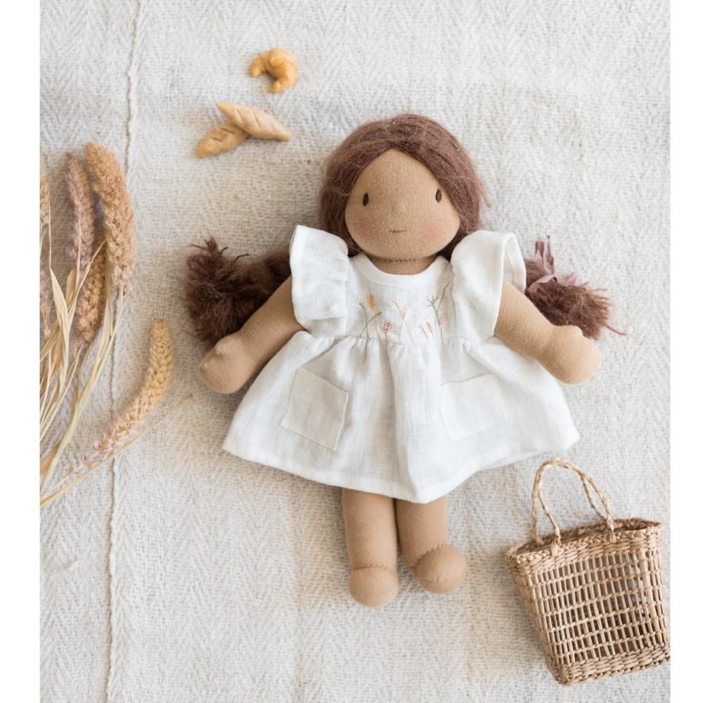 ALLEGRA brodée pour poupée