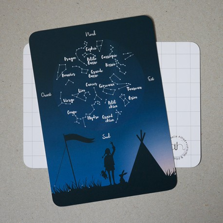 Card Celeste by Alfred & Hermann