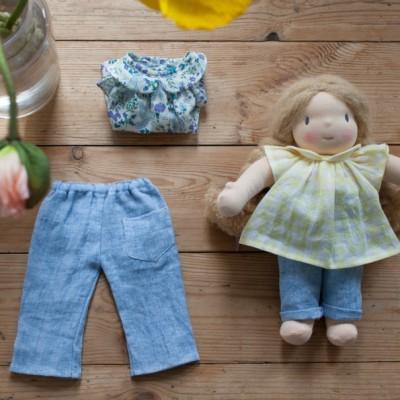 Pantalon Circé pour poupée