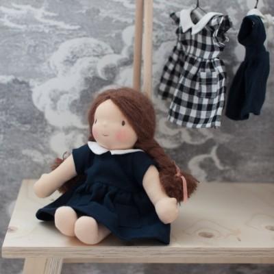 Robe Hermine poupée