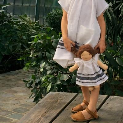 Robe Alba poupée