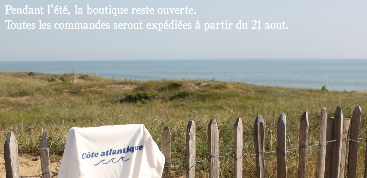 "Tee shirt loose fit ""côte atlantique"""