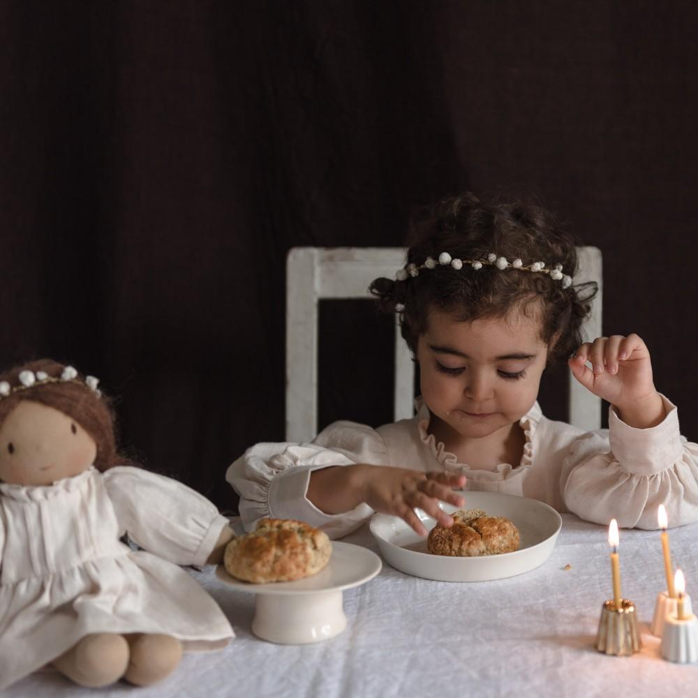 Robe un thé en Ecosse pour Noël, pour Happy to see you