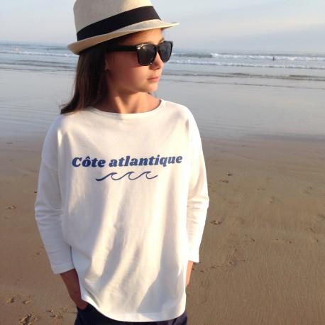 """Tee shirt """"côte altantique"""""""