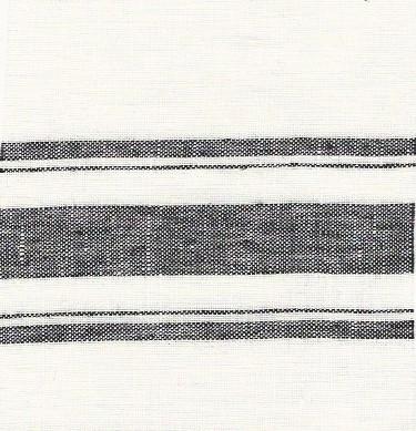 black and white khadi stripe