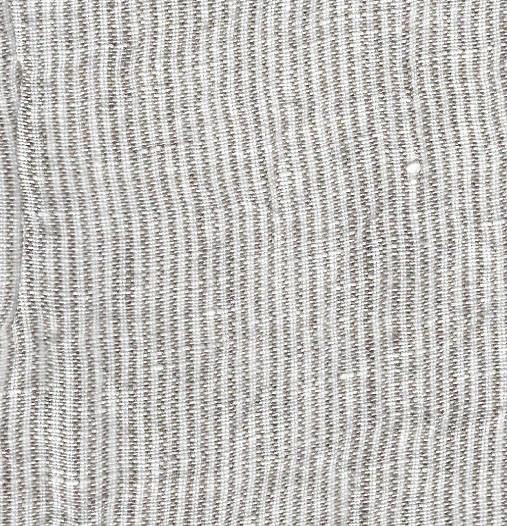 sand striped linen