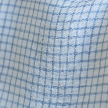 pale blue checks