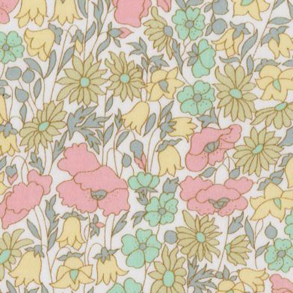 Liberty of London Poppy & Daisy pastel