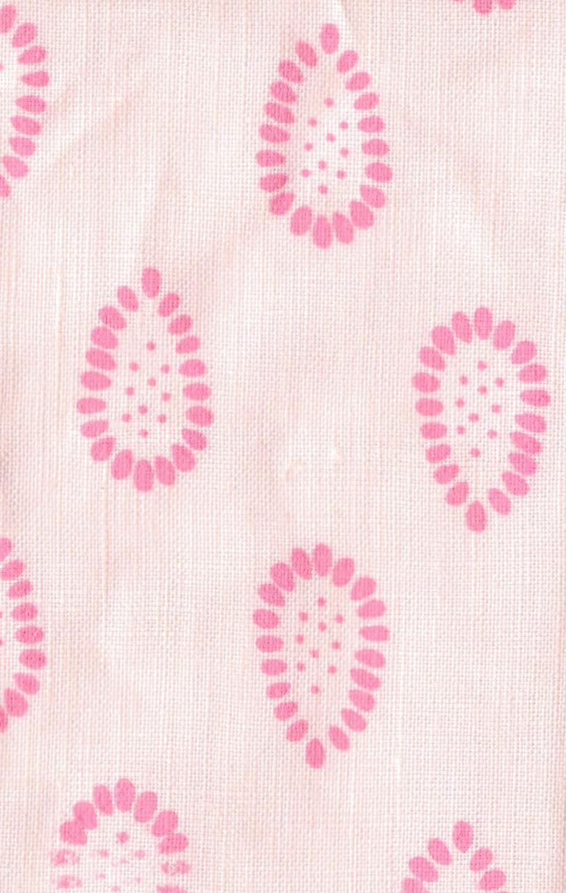 pink linen grenade